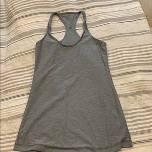 Like new grey lululemon size 6 tank
